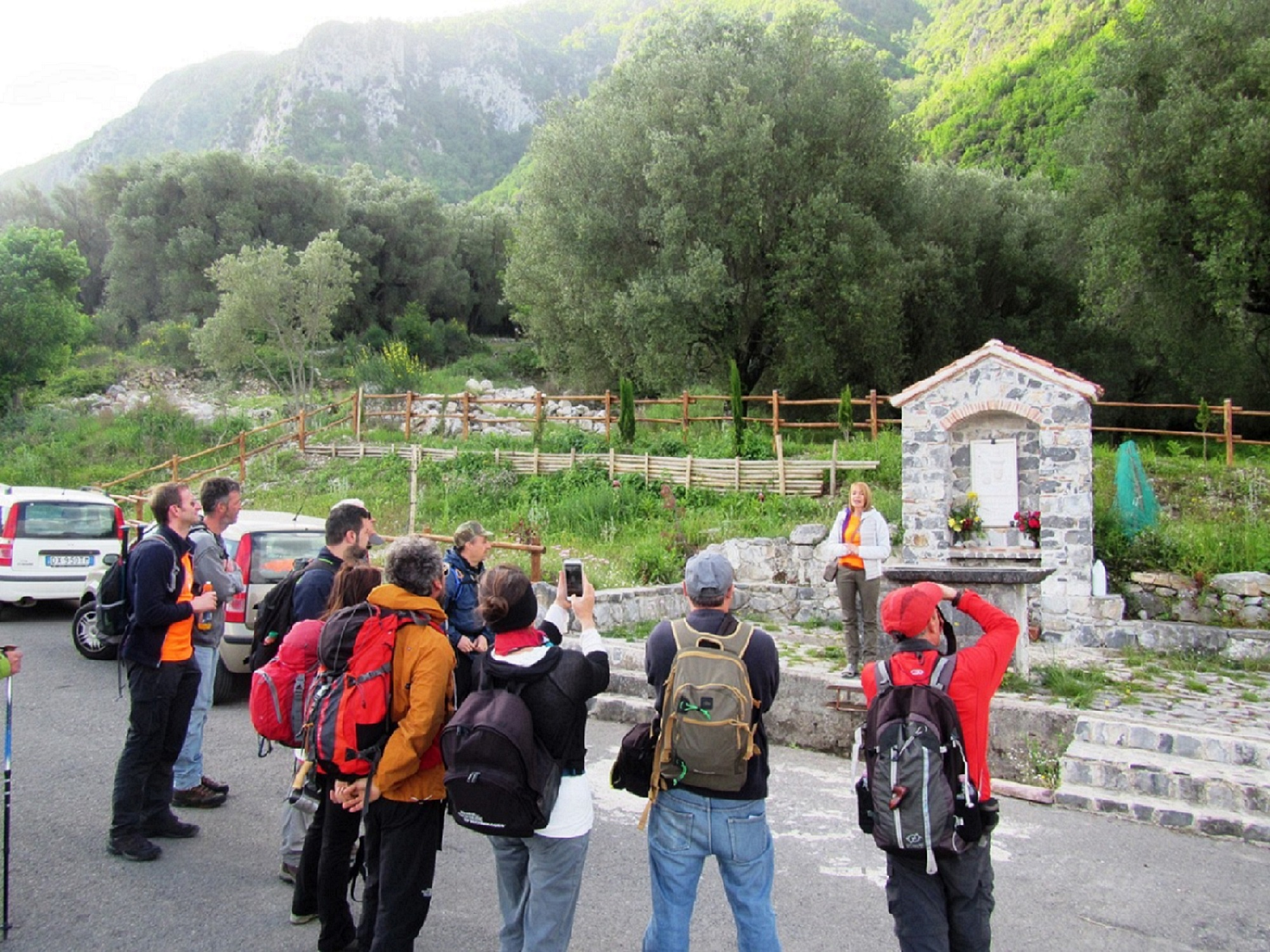 cilento trekking in the mountains: the monte bulgheria